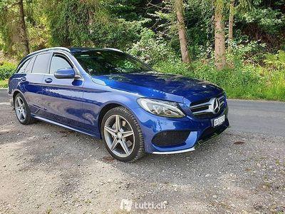gebraucht Mercedes C220 BlueTEC Swiss Star AMG Line