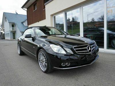 gebraucht Mercedes E250 E-Klasse MercedesCGi Cabrio / Ab MFK / 12 M Garantie