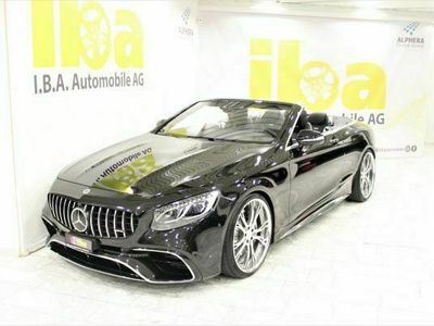 gebraucht Mercedes S63 AMG AMG 4Matic Aut. Facelift Cabrio 4x4