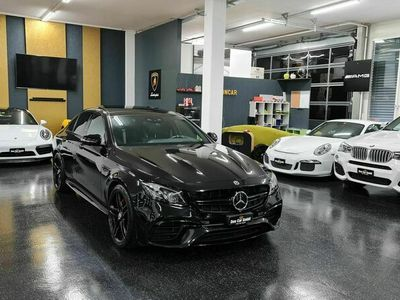 gebraucht Mercedes E63 AMG S Black 4Matic Speedshift MCT