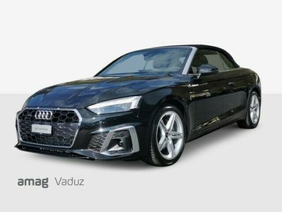 gebraucht Audi A5 Cabriolet  40 TFSI S-Line S-tronic quattro