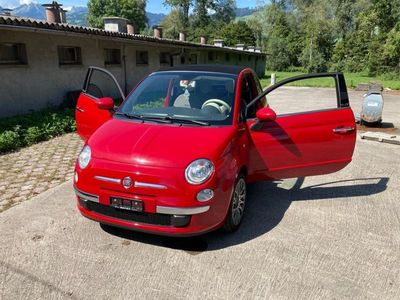 gebraucht Fiat 500 Cabriolet - *** Serviceheft, 102035 tkm, MFK ***