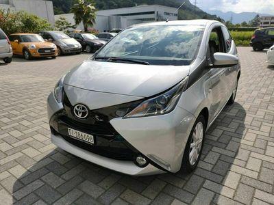 gebraucht Toyota Aygo 1.0, argento met., Km 58'000