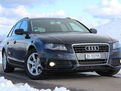 gebraucht Audi A4 Avant 2.7 TDI, 190 PS, Schwarz / Leder / Automat