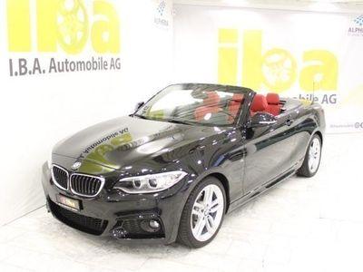 gebraucht BMW 220 i M-Sport Aut. Cabrio
