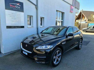 gebraucht Jaguar F-Pace 2.0d Prestige Advantage AWD Automatik