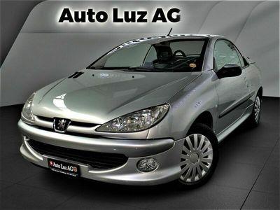 gebraucht Peugeot 206 CC 2.0 16V