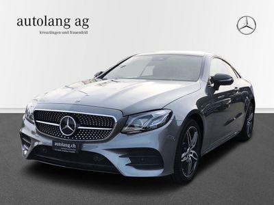 gebraucht Mercedes E220 AMG Line 4Matic Coupé