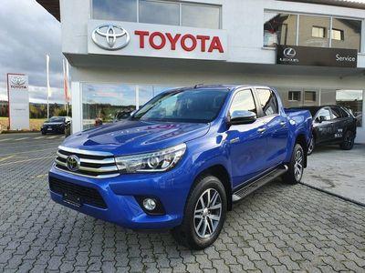 gebraucht Toyota HiLux HiluxDouble Cab.-Pick-up 2.4 D-4D Sol P