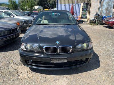 gebraucht BMW 323 Cabriolet 3er Ci