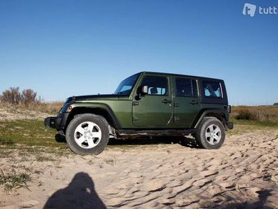 gebraucht Jeep Wrangler 2.8CRD Unlimited Sahara Automatic