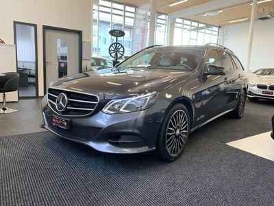 gebraucht Mercedes E350 E-KlasseBlueTEC Avantgarde 4Matic 7G-Tronic