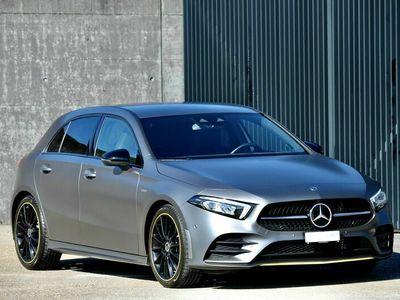 gebraucht Mercedes A250 A-Klasse Mercedes A250 AMG line 4-Matic EDITION 1, Designo Matt Grau! A-Klasse MercedesAMG line 4-Matic EDITION 1, Designo Matt Grau!