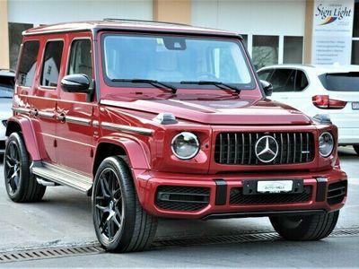 gebraucht Mercedes G63 AMG AMG Speedshift Plus G-Tronic *HYAZINTHROT*