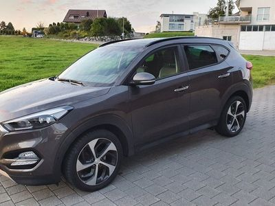 gebraucht Hyundai Tucson 2.0 CRDI 4WD Automatic, Vollausstattung