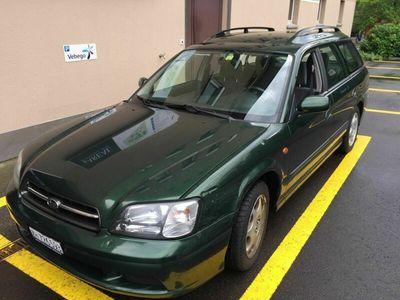 gebraucht Subaru Legacy 2.0Frisch MFK Anhängerkupplung
