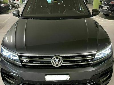 gebraucht VW Tiguan Highline Indium Grey Metallic