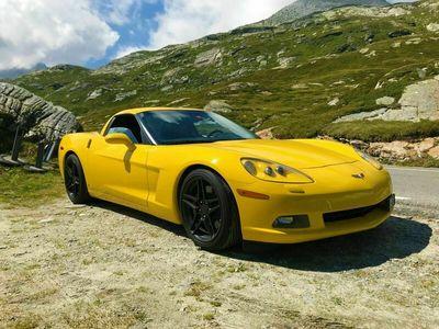 gebraucht Chevrolet Corvette C6 Corvette Wunderschöne, gelbe