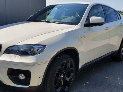 gebraucht BMW X6 40d weiss 5-Sitzer