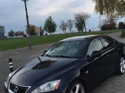 gebraucht Lexus IS250 Dunklelblau Bj 2008. Sehr gepflegt / Ab Service