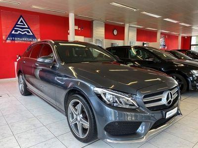 gebraucht Mercedes C220 d AMG Line 4Matic 7G-Tronic
