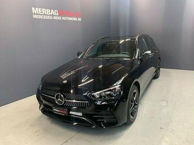 gebraucht Mercedes E300 E-KlasseT 4Matic AMG Line 9G-Tronic