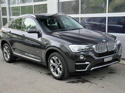 gebraucht BMW X4 xDrive 20d xLine Steptronic