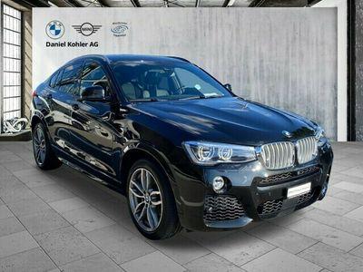gebraucht BMW X4 xDrive 35d M Sport