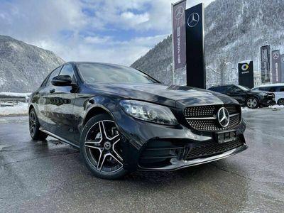 gebraucht Mercedes C220 d Swiss Star AMG Line 4m