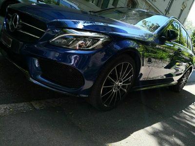 gebraucht Mercedes C200 C-Klasse4Matic T-Modell AMG, inkl Winter Pneu 18Z
