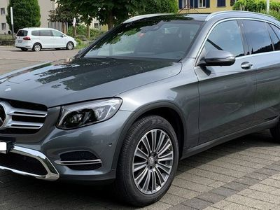 gebraucht Mercedes E250 GLC-Klasse Mercedes GLC d Exclusive 4 Matic