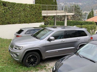 gebraucht Jeep Grand Cherokee overland con gancio traino