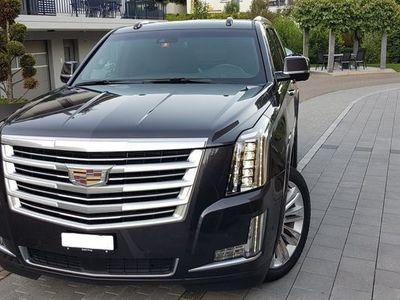 gebraucht Cadillac Escalade 6.2 4x4 - 2019 - 39´000km