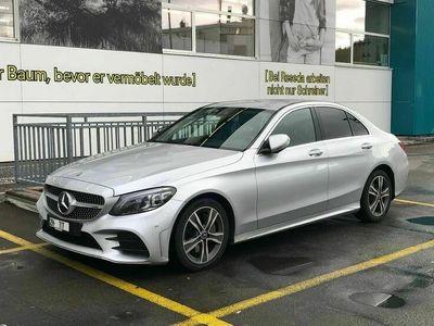 gebraucht Mercedes C220 d AMG Line 9G-Tronic