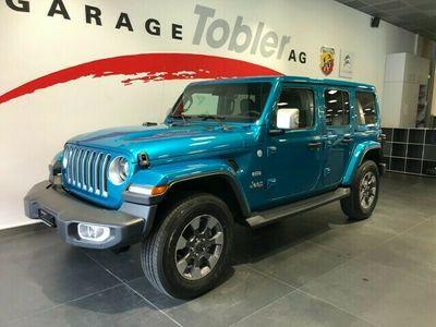 gebraucht Jeep Wrangler 2.2MJ Unlimited Sahara Automatic
