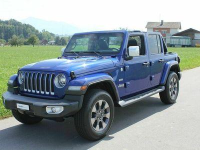 gebraucht Jeep Wrangler 2.2MJ Unlimited Sahara Automatic *Abstandsauto