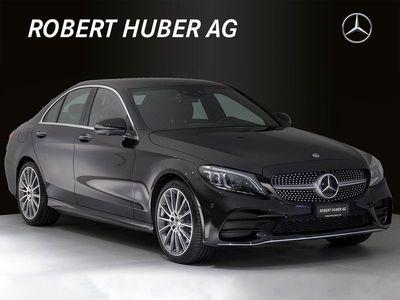 gebraucht Mercedes C400 C-Klasse4Matic AMG Line 9G-Tronic