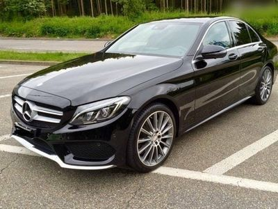 gebraucht Mercedes C200 C-Klasse4Matic AMG-Line