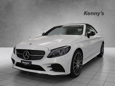 gebraucht Mercedes C200 AMG Line 4matic Cabriolet