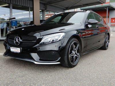 gebraucht Mercedes C450 AMG C-Klasse S205 Kombi4matic