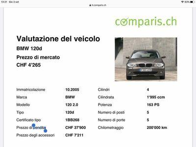gebraucht BMW 120 1er Vendo serie 1 D
