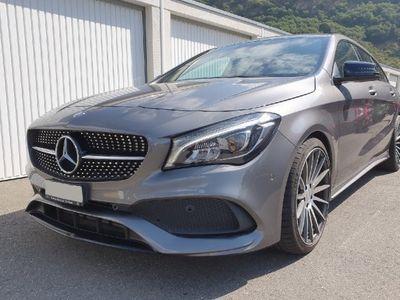 gebraucht Mercedes CLA250 Shooting Brake AMG Line 4Matic 7G-DCT