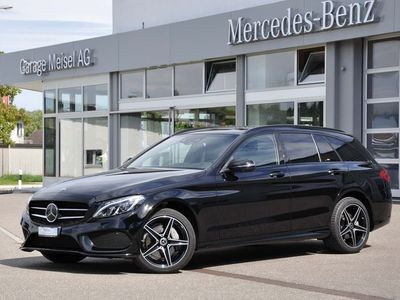 gebraucht Mercedes C220 d AMG Line 4m