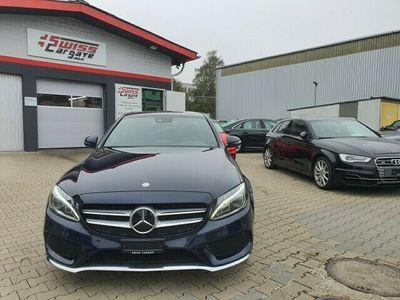 gebraucht Mercedes C300 BlueTEC Hybrid AMG Line 7G-Tronic