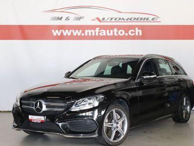 gebraucht Mercedes C250 BlueTec AMG Line
