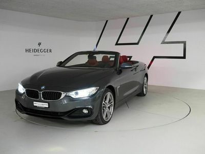 gebraucht BMW 428  i Cabriolet xDrive Sport Line Steptronic