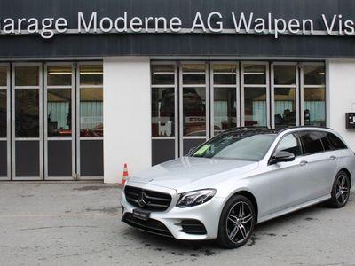 gebraucht Mercedes E220 AMG Line 4Matic