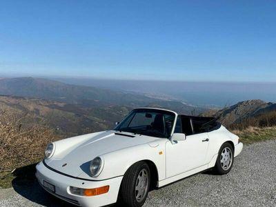 gebraucht Porsche 911 964. 4 cabrio collaudo luglio 2021.