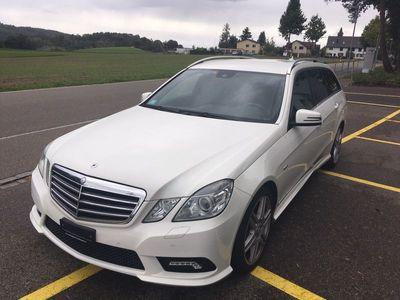 gebraucht Mercedes E250 E-Klasse Mercedes -BenzCDI Pakiet AMG