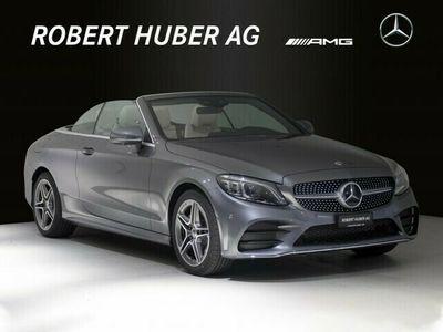 gebraucht Mercedes C200 AMG Line Cabriolet 4Matic 9G-Tronic